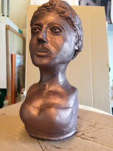 peinture bronze...